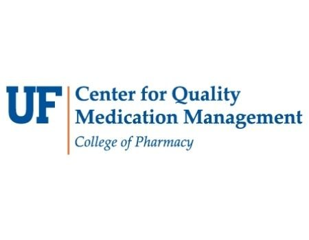 UF Center for Quality Medication Management College of Pharmacy logo