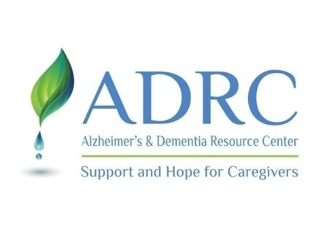 ADRC Alzheimer's & Dementia Resource Center Support and Hope for Caregivers logo