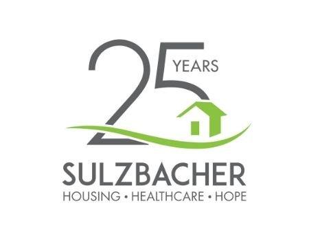 25 Years Sulzbacher Housing. Healthcare. Hope logo